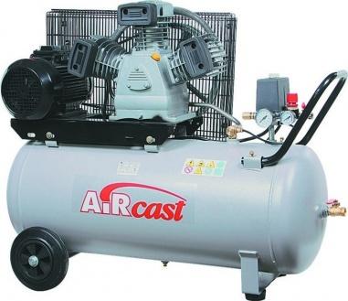компрессор поршневой 360 л/мин, 10 бар, 2.2 кВт. 220 В, ресивер 50 л.