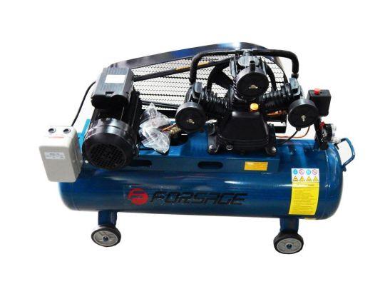 Компрессор 100л 3-х поршневой с ременным приводом  (3.0кВт, ресивер 100л, 360л/м, 380В)