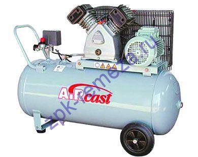 компрессор поршневой 500 л/мин, 9 бар, 3 кВт. 380 В, ресивер 50 л.