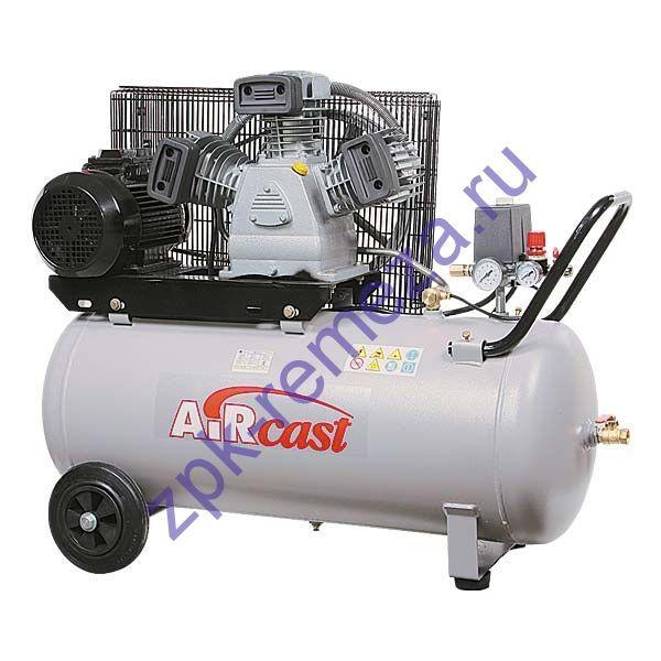 компрессор поршневой 580 л/мин, 10 бар, 3 кВт. 380 В, ресивер 50 л.