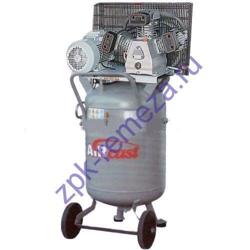 компрессор поршневой 580 л/мин, 10 бар, 3 кВт. 380 В, ресивер 100 л. вертикальный