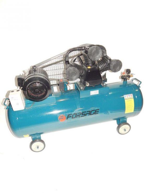 Компрессор 300л 3-х поршневой с ременным приводом  (7.5кВт, ресивер 300л, 900л/м, 380В)