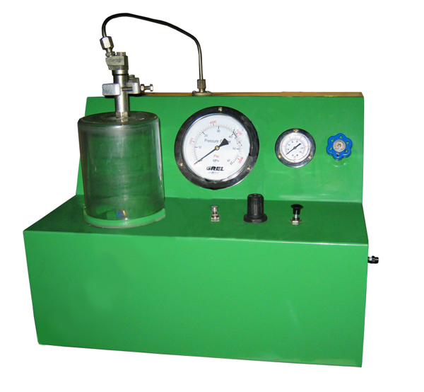 Прибор для испытания и регулировки дизельных форсунок пневматический