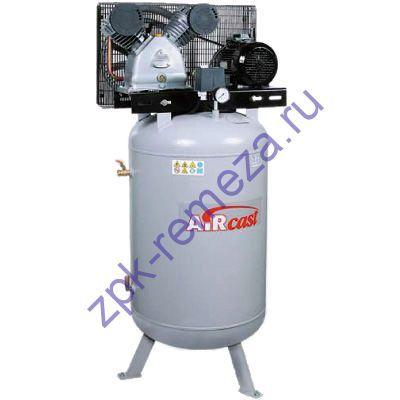 компрессор поршневой 690 л/мин, 10 бар, 4 кВт. 380 В, ресивер 270 л. вертикальный