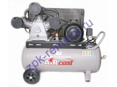 компрессор поршневой 950 л/мин, 10 бар, 5.5 кВт. 380 В, ресивер 100 л.