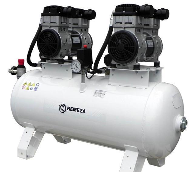 компрессор безмасляный поршневой 400 л/мин, 8 бар, 3 кВт. 380 В, ресивер 100 л.