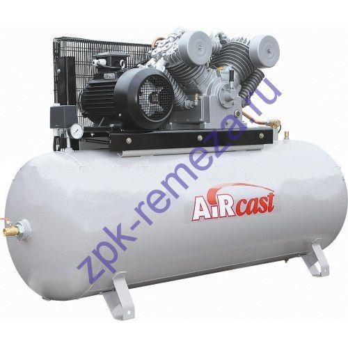 компрессор поршневой 1400 л/мин, 10 бар, 7.5 кВт. 380 В, ресивер 500 л.