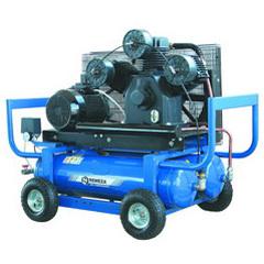 компрессор поршневой передвижной 2800 л/мин, 6 бар, 11 кВт. 380 В, ресивер 90 л.