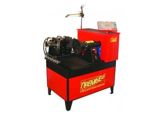 Стенд для правки дисков 'Премьер'                       (электрический стенд 380В с гидроприводом и автоматическим управлением для прокатки стальных дисков)