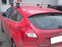 Багажник на крышу Ford Focus 3, Атлант, аэродинамические дуги