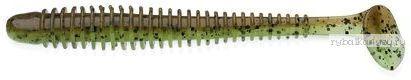 Купить Виброхвост Keitech Swing Impact 2.5 6,4 см / 1,4 гр цвет - 401 Green Pumpkin Chartreuse(упаковка 10 шт)
