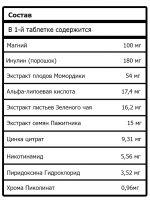 Модуляторы Глюкозы Состав