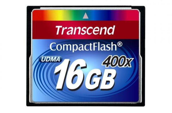 16GB карта памяти CF Transcend Ultra Speed 400X
