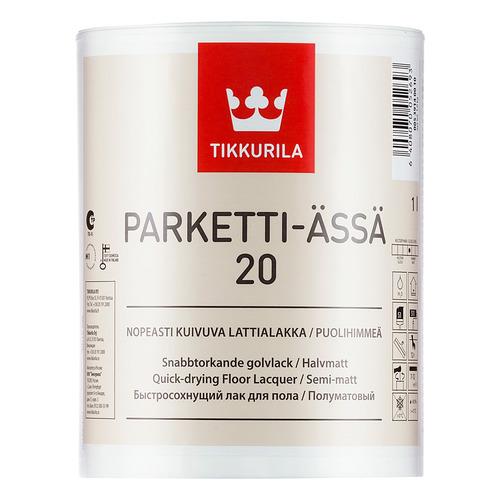 Паркетти-Ясся лак для пола – Parketti Assa