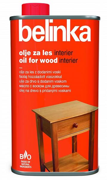 BELINKA Масло С ВОСКОМ для древесины