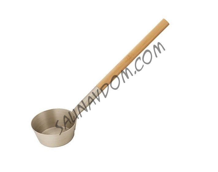 RENTO Алюминиевый черпак с бамбуковой ручкой для сауны, шампань