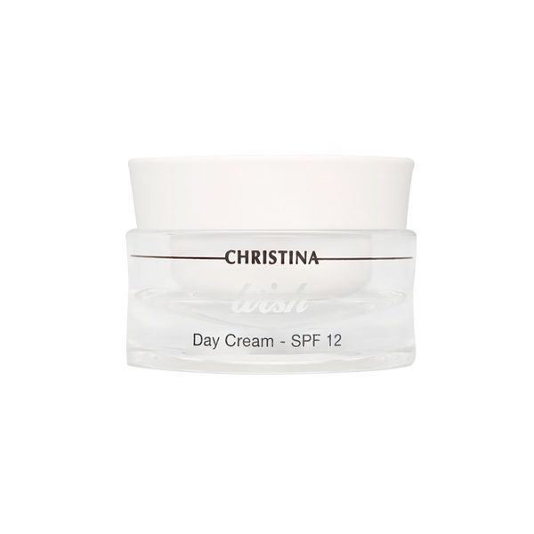 Дневной крем SPF 12 для лица Wish Christina (Виш Кристина) 50 мл