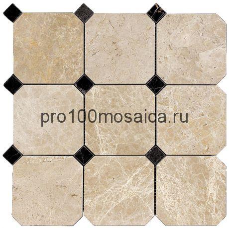 M036+M076-BP Мозаика Мрамор 100*100 OCTAGON 305*305*10 мм (NATURAL)