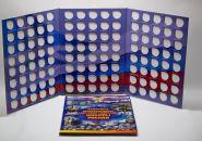 Альбом для биметаллических монет на 2 двора