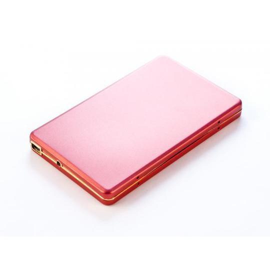 1Tb внешний HD USB 2.0 Алюминиевый кейс U003M, SATA 2,5'' Красный