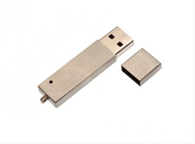 4GB USB-флэш корпус для UsbSouvenir U902 серебряный матовый тонкостенный