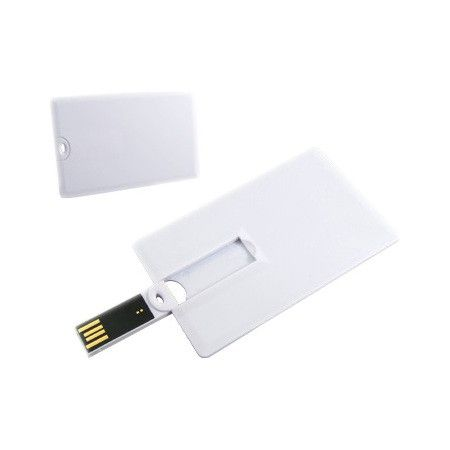 64GB USB-флэш накопитель Supertalent CO-CD2 кред. карточка белый OEM