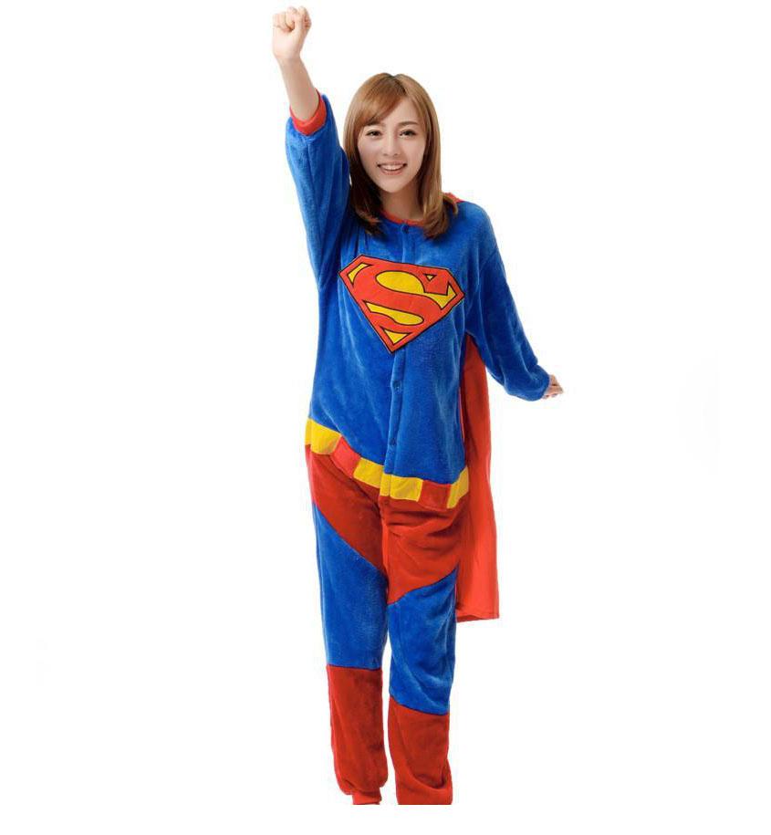 Пижама Кигуруми Супермен_01