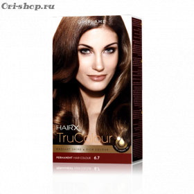Стойкая краска для волос «Цвет-Эксперт».  Лесной орех. 6.7