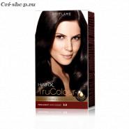 Стойкая краска для волос «Цвет-Эксперт».  Темно-коричневый. 3.0