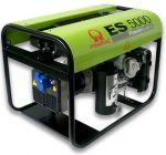 Миниэлектростанция портативная бензиновая PRAMAC  ЕS5000 Двигатель Honda GX 270  Номинальная мощность, КВА 4,2 Напряжение 230 В