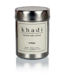 Краска для волос Khadi - Herbal Indigo Hair Color - 150g