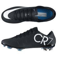 Бутсы Nike Mercurial Vapor X CR FG чёрные