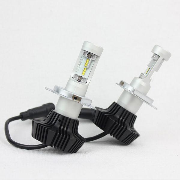 Светодиодная лампа головного света H4 G7 16xPHILLIPS-ZES