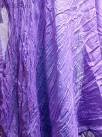 Парео однотонное (цвет фиолетовый) размер 170/100, х/б