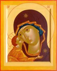Игоревская икона Божией Матери (рукописная)