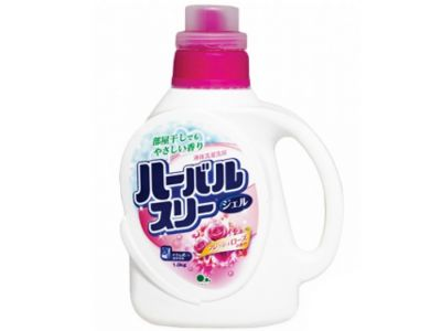 Mitsuei Гель для стирки белья со смягчителем, с ароматом роз