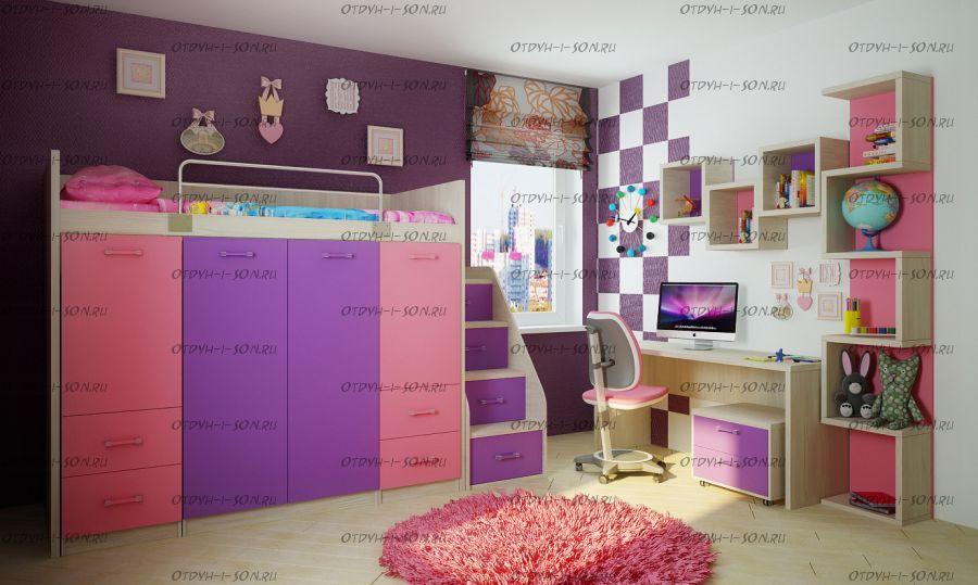 Детская комната Фанки Сити ФС-15, комплект №3
