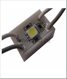 Светодиодный модуль SMD 5050/1LED   24*24*5 мм  IP65 red