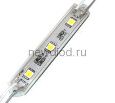 Светодиодный модуль SMD 5050/3LED 90*12*4,5 мм  IP65 blue