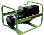 Миниэлектростанция портативная бензиновая PRAMAC  MES8000  Двигатель Honda GX 390  Номинальная мощность, КВА 6,0 230V 50HZ
