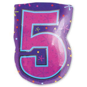 Шар фигура цифра 5