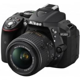 Nikon D5300 Kit 18-55 VR II Black