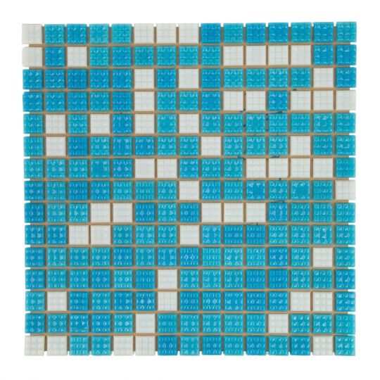 Мозаика стеклянная Aquaviva Bahama Mix 2 светлая