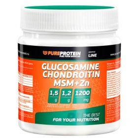 PureProtein Glucosamine Chondroitin MSM+Zn