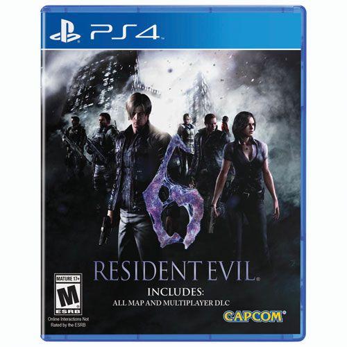 Игра Resident Evil 6 (PS4)