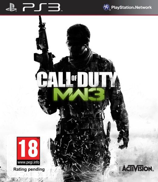 Игра Call of Duty : Modern Warfare 3 (PS3, русская версия)