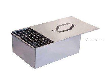 Купить Коптильня двухъярусная нержавеющая сталь 0,8 мм (Артикул: 10-01-0033)