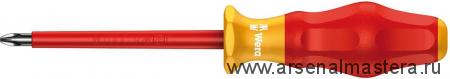 Изолированная крестовая отвертка Kraftform Comfort WERA 1162 i PH VDE, PH 1 / 150 мм, 031602
