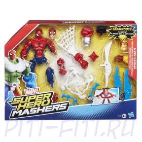 Marvel SPIDER-MAN HERO MASHERS Улучшенные разборные фигурки. Человек-паук