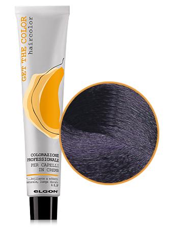 Elgon GET THE COLOR Крем-краска 3.7 темно-каштановый фиолетовый